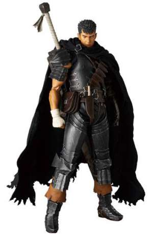 Berserk Golden Age Arc Figura RAH Guts Black Swordsman Version 01