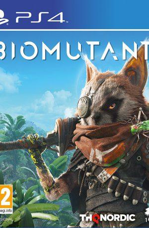 Biomutant PS4 Portada