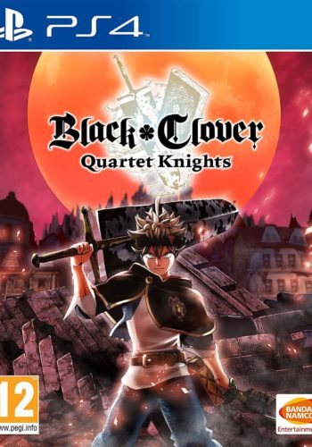 Black Clover Quartet Knights PS4 Portada