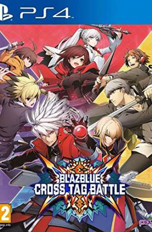 Blazblue Cross Tag Battle PS4 Portada