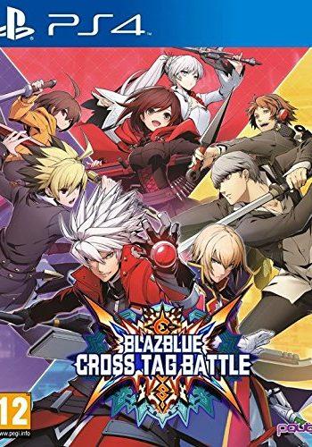 Blazblue Cross Tag Battle PS4 Portada