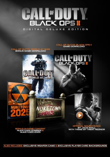 Call of Duty Black Ops 2 Digital Deluxe Edition PC