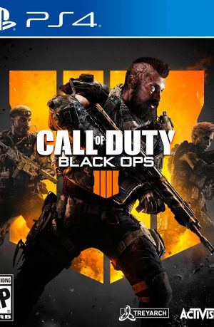 Call of Duty Black Ops 4 PS4 Portada