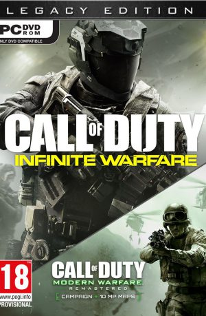 Call of Duty Infinite Warfare Legacy edition PC Portada