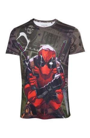 Camiseta Deadpool Dollar Bills
