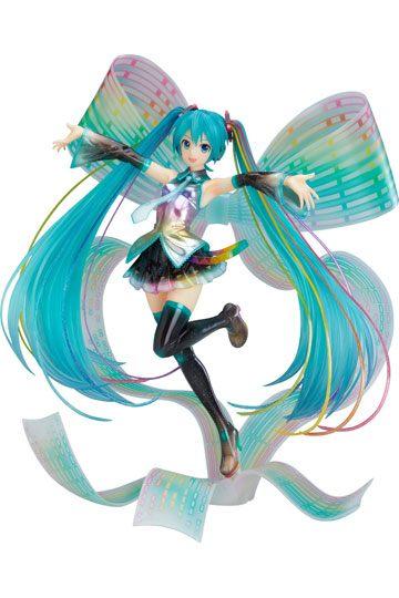 Character Vocal Series 01 Figura Hatsune Miku Decimo Aniversario Memorial Box 01