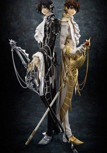 Figura Code Geass Lelouch of the Rebellion G.E.M. Lelouch y Suzaku