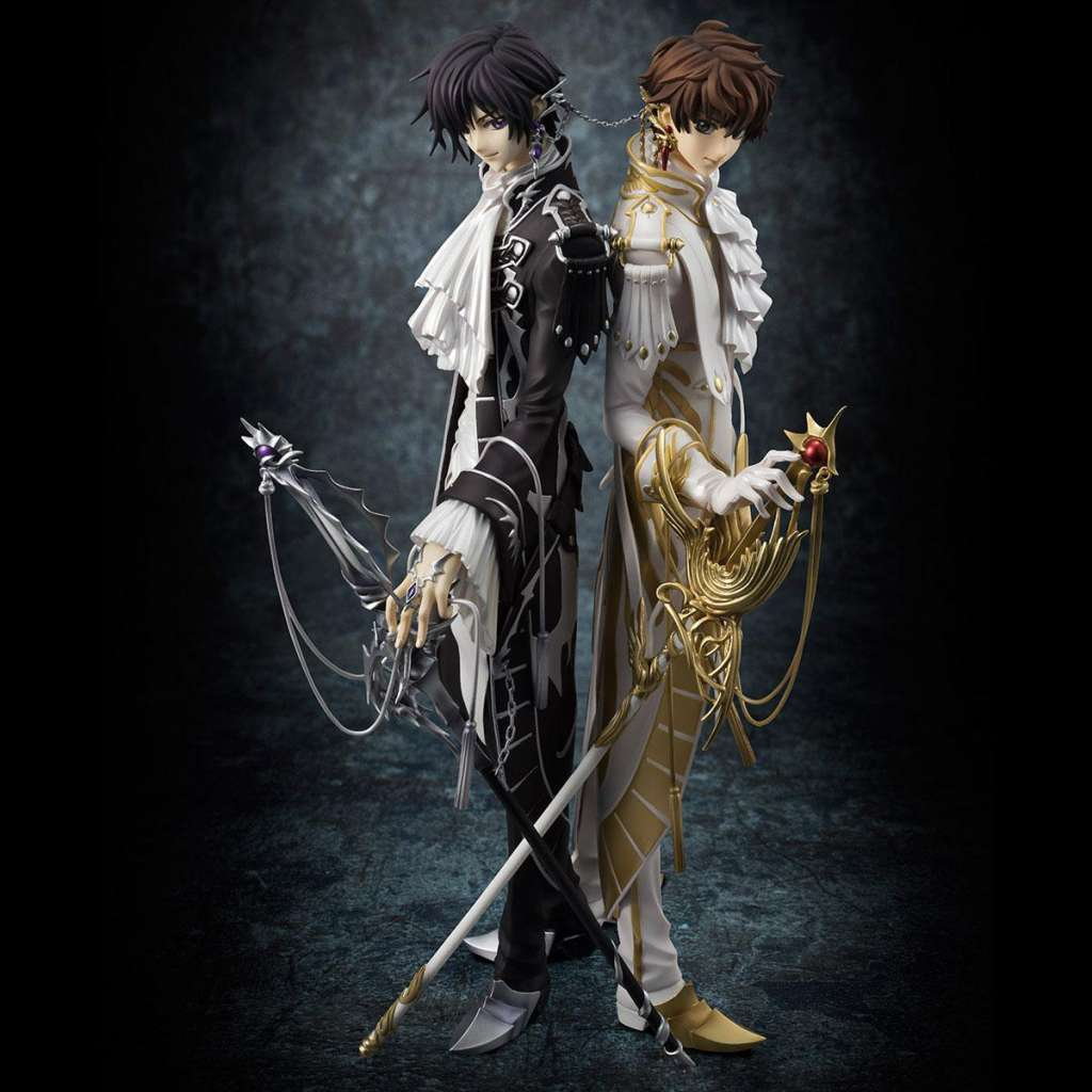 Code Geass Lelouch of the Rebellion Serie G.E.M. Figura Clamp Works Lelouch y Suzaku 03