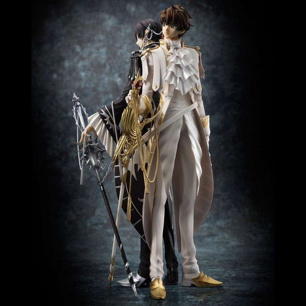 Code Geass Lelouch of the Rebellion Serie G.E.M. Figura Clamp Works Lelouch y Suzaku 05