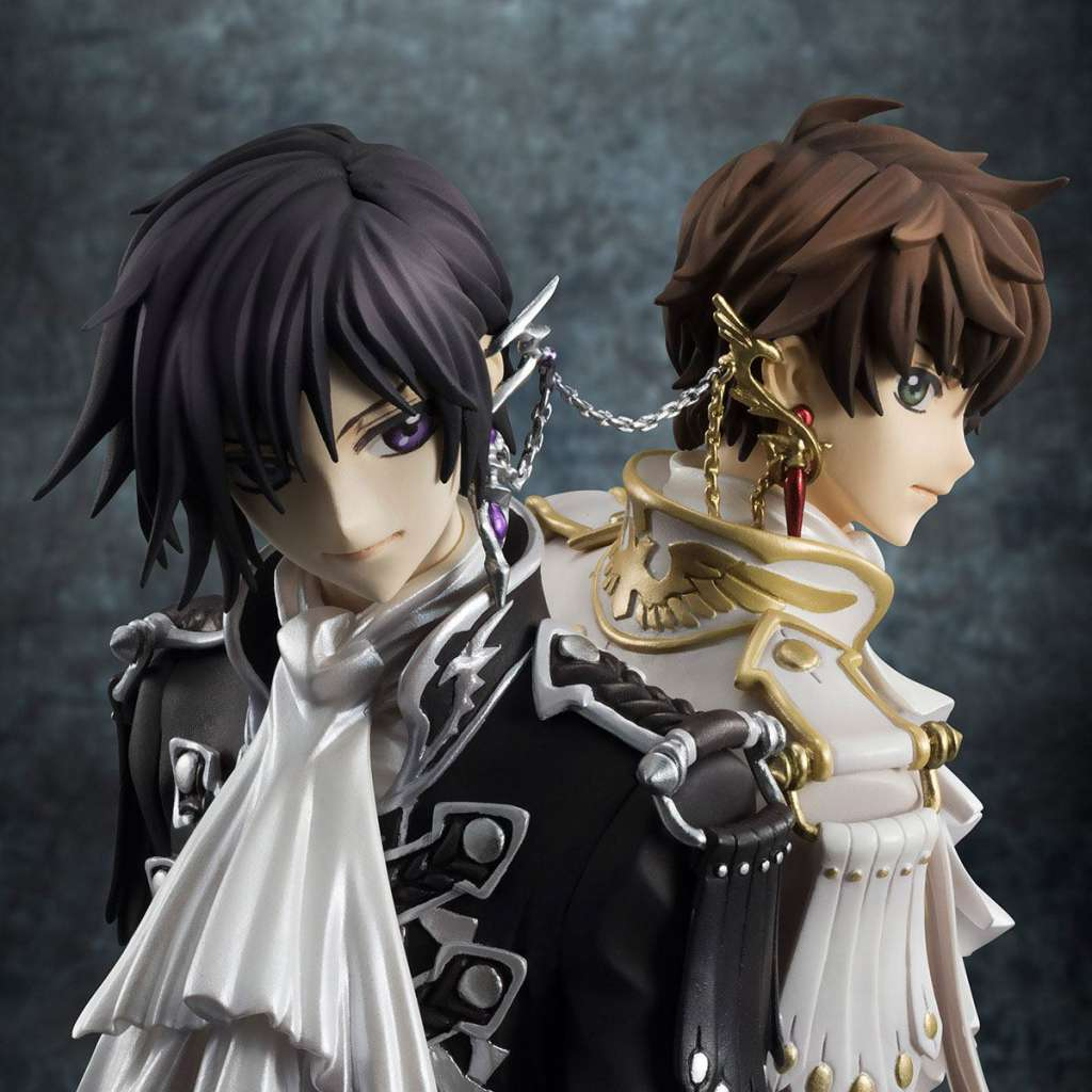 Code Geass Lelouch of the Rebellion Serie G.E.M. Figura Clamp Works Lelouch y Suzaku 10