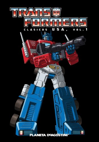 Comic Transformers Marvel USA 01