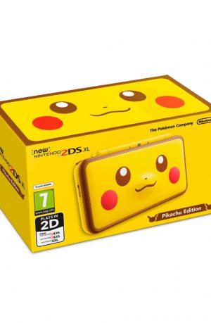 Consola New Nintendo 2DS XL Edicion Pikachu Portada