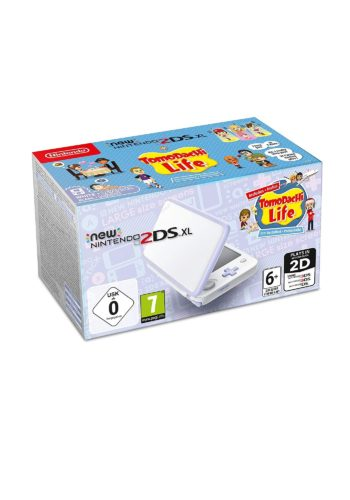 Consola New Nintendo 2DS XL Lavanda + Tomodachi Life Portada