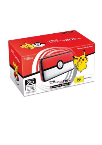 Consola New Nintendo 2DS XL Pokeball Edition Portada