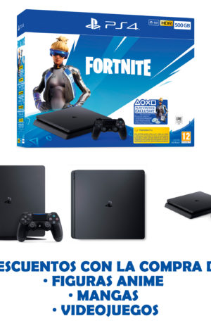 Consola PS4 500GB Fortnite