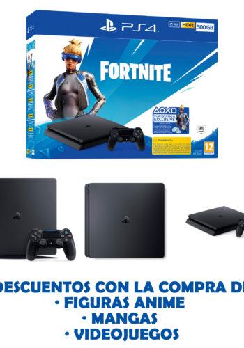 Consola PS4 500GB Fortnite