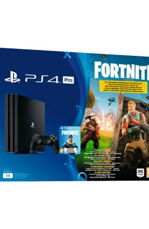Consola Sony PS4 pro 1TB + bono Fortnite Portada