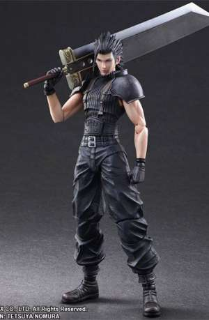 Crisis Core Final Fantasy VII Figura Play Arts Kai Zack 01