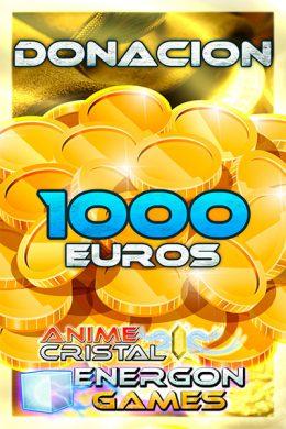 Donaciones de 1000 euros