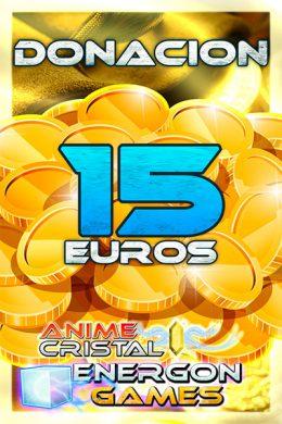 Donaciones de 15 euros