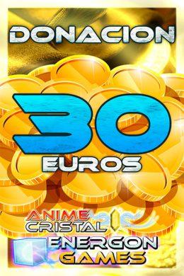 Donaciones de 30 euros