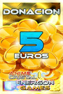 Donaciones de 5 euros