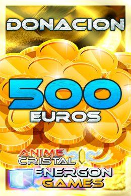 Donaciones de 500 euros