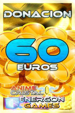 Donaciones de 60 euros