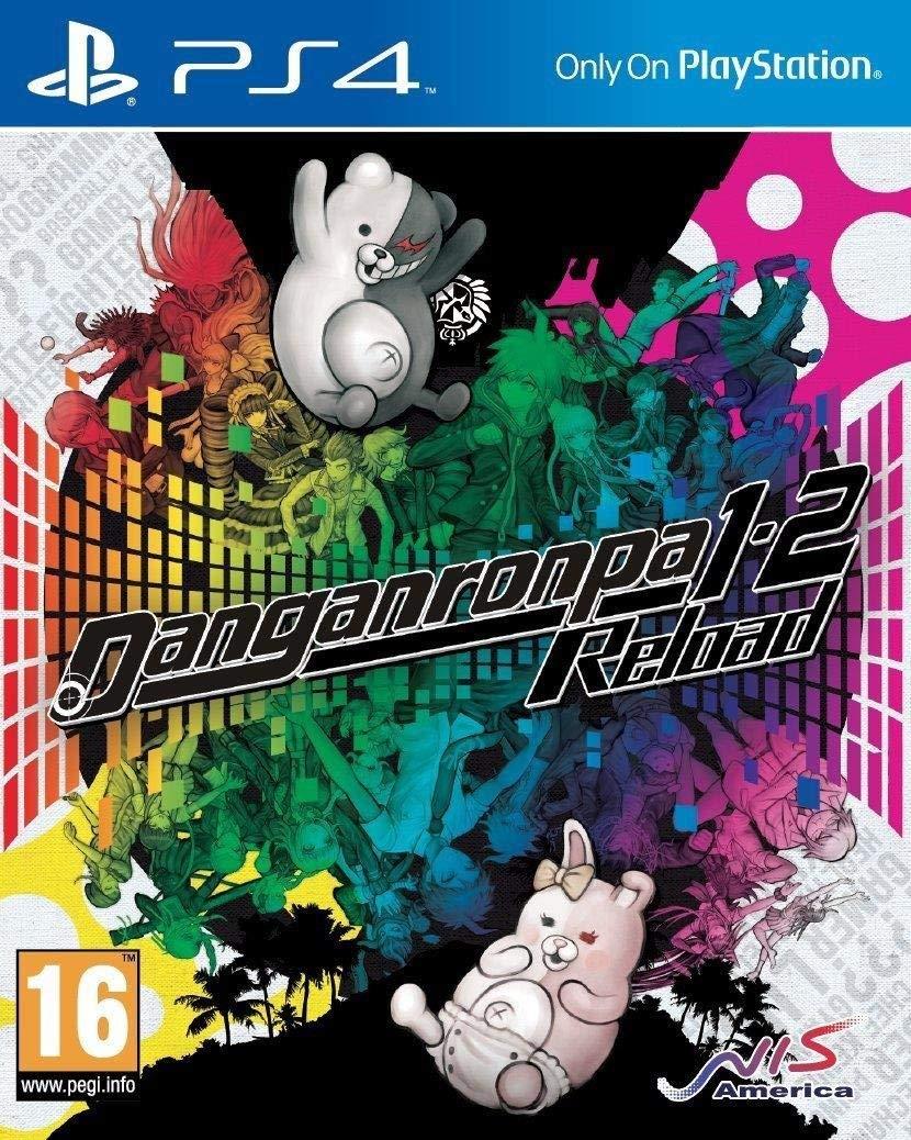 Danganronpa 1-2 Reload PS4 Portada