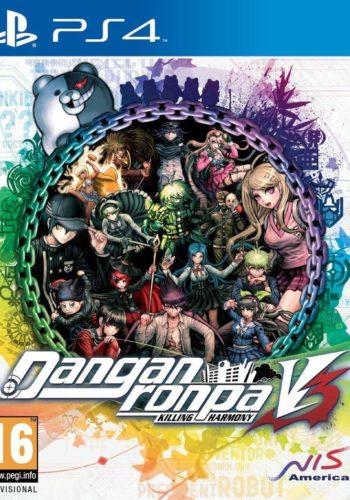 Danganronpa V3 Killing Harmony PS4 Portada
