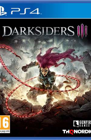 Darksiders III PS4 Portada