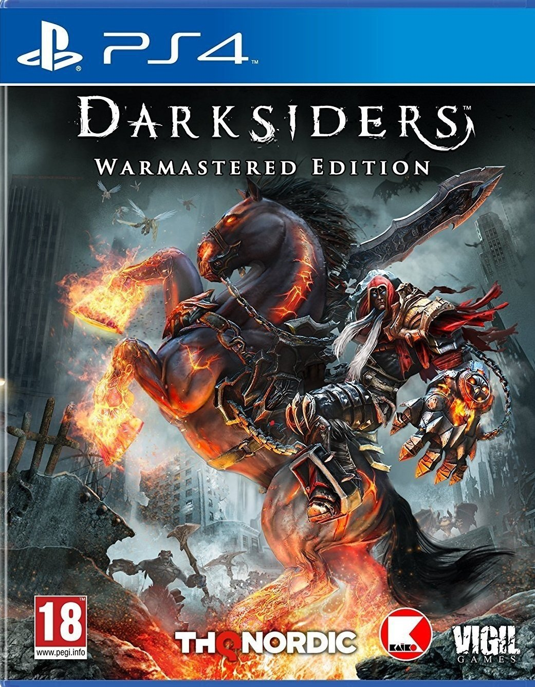 Darksiders Warmastered Edition PS4 Portada