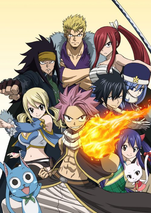 Descargar Fairy Tail 1080p Segunda Temporada Suscripcion