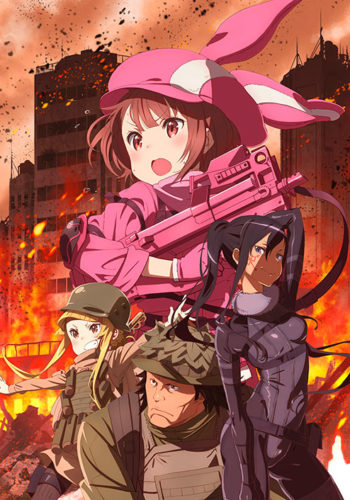 Descargar Sword art Online Alternative Gun Gale Online 1080p Suscripcion