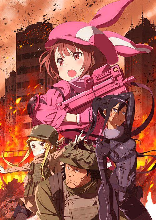Descargar Sword art Online Alternative Gun Gale Online 1080p Suscripcion