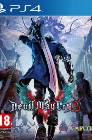 Devil May Cry 5 PS4 Portada