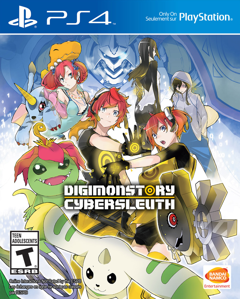 Digimon Story Cyber Sleuth PS4 Portada