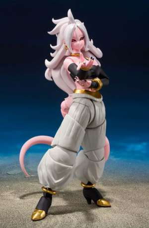 Dragon Ball Fighter Z Figura S.H. Figuarts Android Nº 21 15 cm