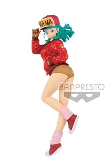 Dragon Ball Figura Glitter & Glamours Bulma Normal Color 25 cm