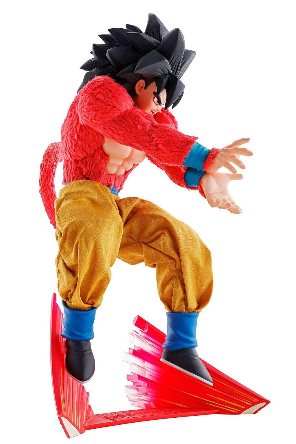 Dragon Ball GT D.O.D.O.D. Figura Super Saiyan 4 Son Goku 06