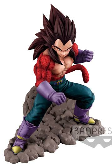 Dragon Ball GT Figura Super Saiyan 4 Vegeta 16 cm