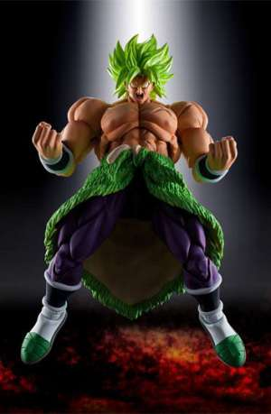 Dragon Ball Super Broly Figura S.H. Figuarts Super Saiyan Broly Full Power 22 cm