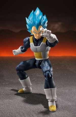Dragon Ball Super Broly Figura S.H. Figuarts Super Saiyan God Vegeta 14 cm