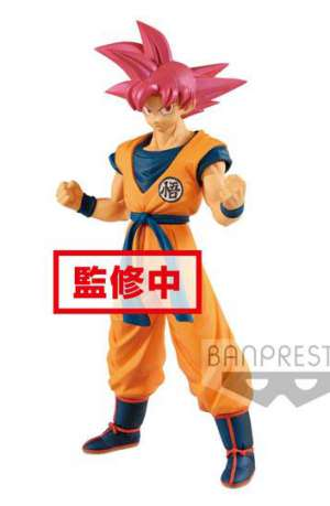 Dragon Ball Super Figura Cyokuku Buyuden Super Saiyan God Son Goku 22 cm