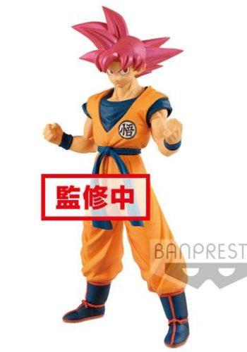 Dragon Ball Super Figura Cyokuku Buyuden Super Saiyan God Son Goku 22 cm