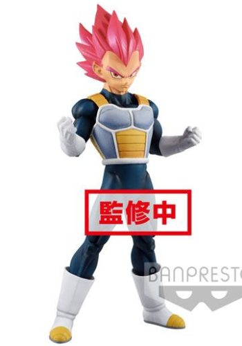 Dragon Ball Super Figura Cyokuku Buyuden Super Saiyan God Vegeta 22 cm