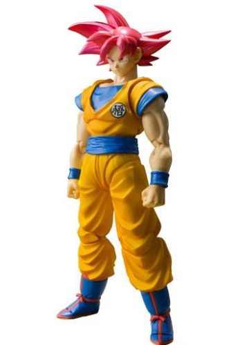 Dragon Ball Super Figura S.H. Figuarts SSGSS Son Goku Tamashii Web Exclusive 01