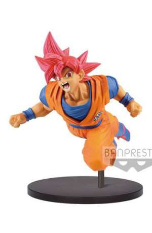 Dragon Ball Super Figura Son Goku Fes Super Saiyan God 20 cm