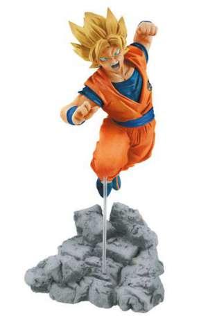 Dragon Ball Super Figura Soul x Soul Super Saiyan Goku 01