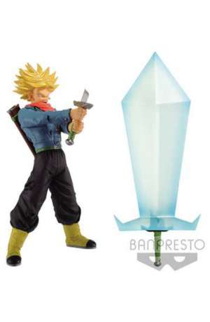 Dragon Ball Super Figura de Super Saiyan 2 Trunks con Blade of Hope 01